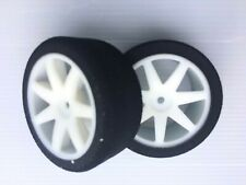 1/10 on road RC car performance foam wheels and tyres set of two  26mm