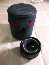 CANON FD 28mm 1:2.8 Wide Angle Lens, Made in Japan