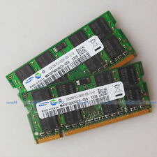 Samsung 4GB 2x2GB PC2-5300 DDR2-667 667Mhz 200pin DDR2 Laptop Memory SODIMM RAM