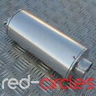 SILVER BIG BORE PIT DIRT BIKE EXHAUST MUFFLER 50cc 110cc 125cc 140cc PITBIKE