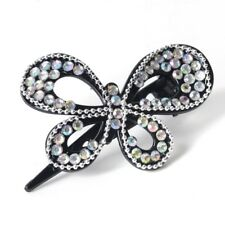 Women Lady Chains Claws Clips Clamps Crystal Plastic Butterfly Hair Accessories