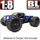 Redcat Racing Landslide XTE 1/8 Scale Brushless Electric Monster RC Truck Blue