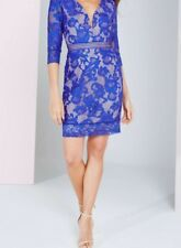 Little mistress blue lace dress