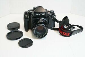 (S) Pentax 67 II Medium Format Camera w/ Takumar 105 Lens