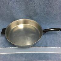 "West Bend Stainless Steel Aluminum Clad 12"" Chicken Fryer/Skillet Helper Handle"