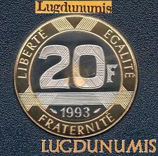 BE - 20 Francs Mont Saint Michel 1993 FDC 5 309 Exemplaires Provenant du Coffret