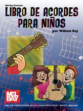 """Libro de Acordes Para Ninos"" Children's Guitar Chord MUSIC Book-NEW ON SALE!!"