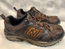 NEW BALANCE Trail Running Shoes Men's Size 10.5 Brown Orange MT481CW2
