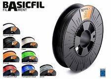 BASICFIL PET 1.75mm, 500g, 3D printing filament, Black