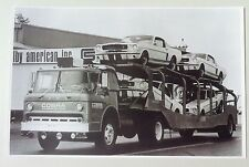 """1964 Ford COE Transporter 1965 Shelby GT350 Mustang 11x17"""" Reprint Garage Decor"""