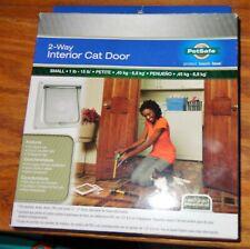Petsafe 2-Way Interior Cat Door For Small 1-15 Lb Petite Cat Or Very Small Dog