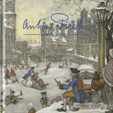 Alle 3 velletjes + boek  Anton Pieck Postfris
