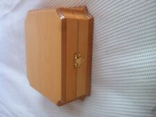 Necklace box REAL Wood RRP £27! Outstanding Quality LUXURIOUS- Job lot