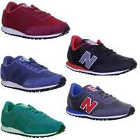 New Balance U410 Mens Womens Suede Leather Trainers Size UK 3 - 12