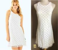 2d1c9faa67 Lilly Pulitzer Joelle Dress White Crincle Tunic Beach Swim Cover Up ...