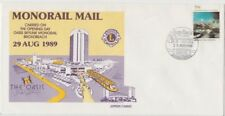 Stamp AAT on Broadbeach Queensland MONORAIL MAIL souvenir cover casino postmark