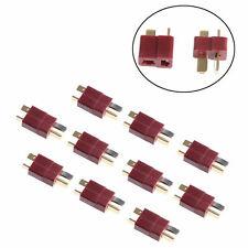 20Pcs 10 Pairs T Plug Male & Female Deans Connectors Style For RC LiPo Battery