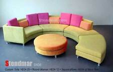 MODERN ROUND SECTIONAL COLOR FABRIC SOFA S406MC4