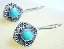 Handmade Not Enhanced Turquoise Fine Jewellery