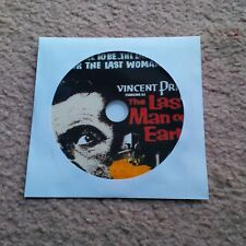 The Last Man on Earth, film on DVD starring Vincent Price