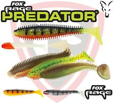 Fishing Lure Spikey Shad 6cm 12cm x5 Soft Plastic Bait Fox Rage Tackle Dropshot