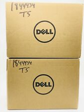 2 Empty Boxes DELL THUNDERBOLT DOCK TB16 - 180W Adapter with Manuals