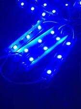 Marine Boat 10 Pack Waterproof modules 12V LED Lights Blue IP67 3 Large LEDS