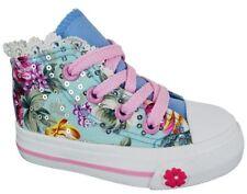 Chaussures bleus zip pour fille de 2 à 16 ans