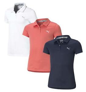 Puma Girls Essential Polo Junior Golf Shirt 578136 - New 2021