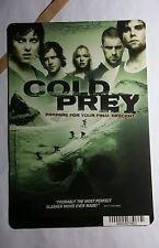 COLD PREY SNOWBOARD SKI  ART MINI POSTER BACKER CARD (NOT A movie )