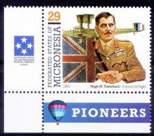 Hugh M Trenchard, Father of Royal Air Force, Aviation, Micronesia MNH Corner-S31