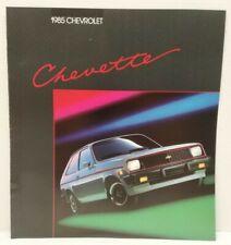 1985 Chevrolet CHEVETTE Sales Brochure ORIGINAL 85 Chevy Literature OEM