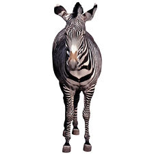 ZEBRA CARDBOARD CUTOUT Standee Standup Poster Prop African Animal FREE SHIPPING
