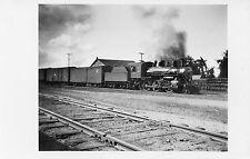 5A503 RPPC 1935 AHNAPEE & WESTERN RAILROAD ENGINE 72 STURGEON BAY DOOR COUNTY WI