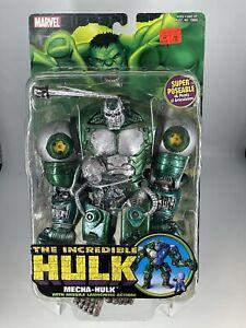 Marvel Toy Biz 2004 The Incredible Hulk Mecha-Hulk w/The Gremlin New/Rare.