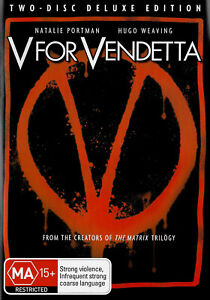 V for Vendetta From The Creators of The Matrix Trilogy Two - Disc Deluxe Edition