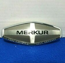 85-89 MERKUR XR4TI Emblem Original  Ford Werke A.G. Koln Germany VGC XR4 TI