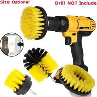 3Pcs Tile Grout Power Scrubber Cleaning Drill Brush Tub Cleaner Combo Set nice
