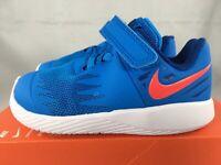 Nike Star Runner TDV 907255 408 sz 5c blue/red orbit sneakers