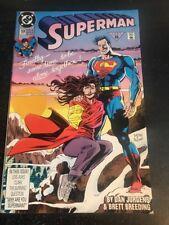 Superman#59 Incredible Condition 9.2(1991) Jurgens/Breeding Art!!