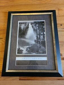 Ansel Adams Authorized Edition John 4:14 Wall Picture Black Framed