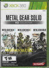 Metal Gear Solid HD Collection Xbox 360 Brand New Factory Sealed