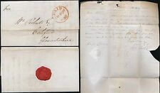 GB 1840 APRIL 30th LONDON CIRCULAR PAID to COLEFORD COPY REPLY 5th MAY