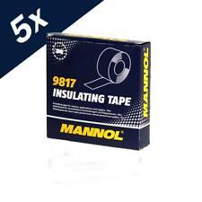 5x10m MANNOL Insulating Tape Electrical PVC Insulation Flame Redundant 19mmX10m