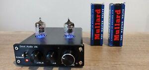Douk Audio D2 6AS6 Vacuum Tube Lamp Preamp Pre amplifier Mullard Valves 99p NR