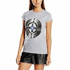 The Who Women's Quadrophenia Short Sleeve T-shirt Grey Size 10 (manufacturer S