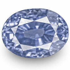4.16-Carat Stunning Unheated Fiery Vivid Blue Eye-Clean Sapphire (GIA-Certified)