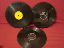THE CREW CUTS & THE 4 COINS CHERRY LIPS CHOP CHOP BOOM LOT OF 3 78 RPM's