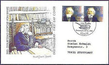 BRD 1995: Leopold von Ranke! FDC der Nr. 1826 Berliner Stempel! Gelaufen! 1602