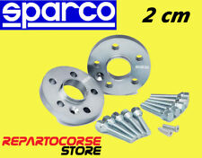 DISTANZIALI SPARCO 20 mm FIAT 500 e 500 ABARTH - LANCIA Y YPSILON - DELTA III